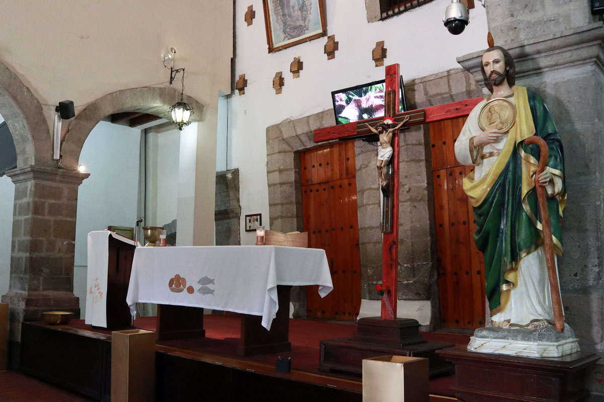 Villa de Guadalupe, Virgen de Guadalupe, Parroquia de Capuchinas