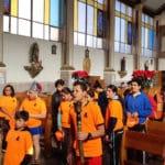 Jóvenes guadalupanos recorren 14 parroquias en 'carrera-peregrinación'