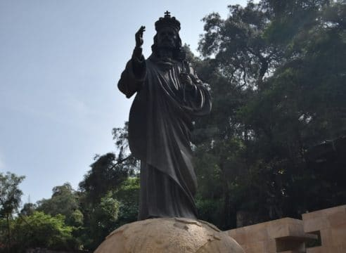 Un 'jardín secreto' dentro de la Basílica de Guadalupe
