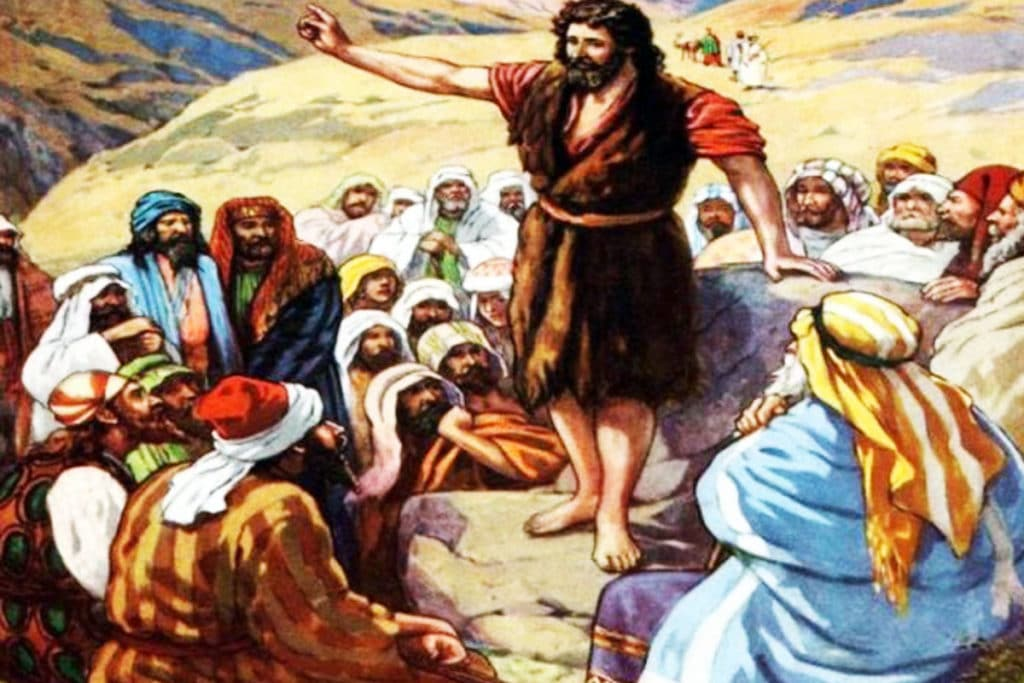 Juan el Bautista y la voz en el desierto