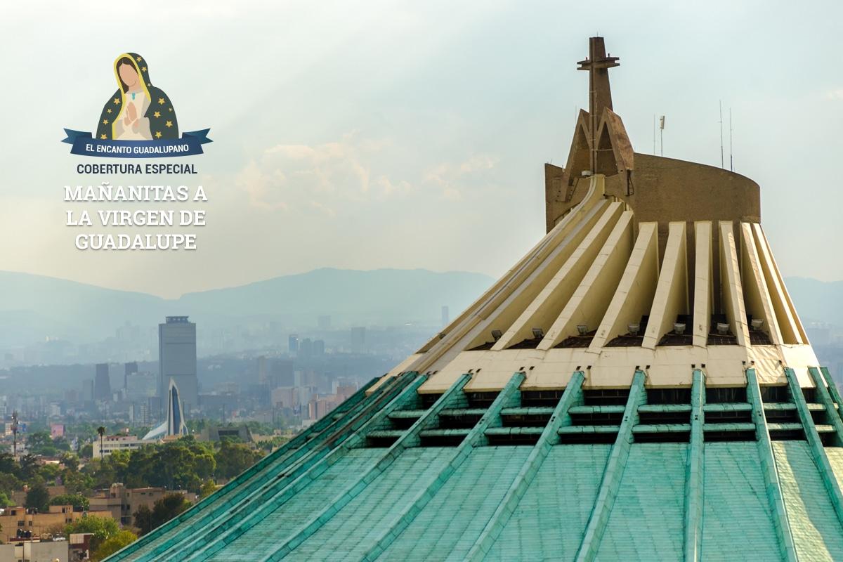 Sigue nuestro Live con las auténticas Mañanitas a la Virgen de Guadalupe desde el Balcón Papal.