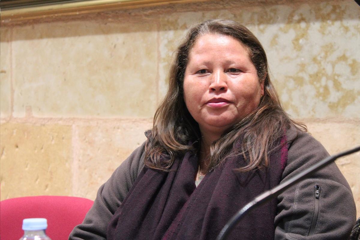 Norma Romero, líder de Las Patronas (organización que ayuda a migrantes).
