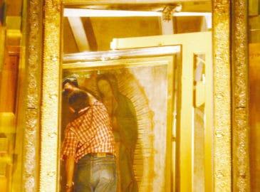 El camarín de la Virgen de Guadalupe, el sitio más codiciado