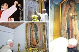 Estos seis Papas manifestaron su amor por la Virgen de Guadalupe.