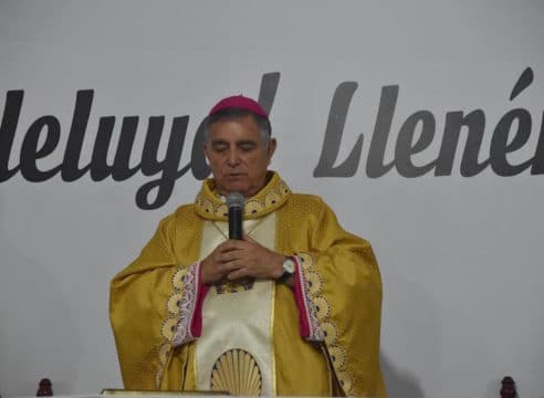 """Pese a amenazas, seguiré adelante"": Obispo de Chilpancingo-Chilapa"