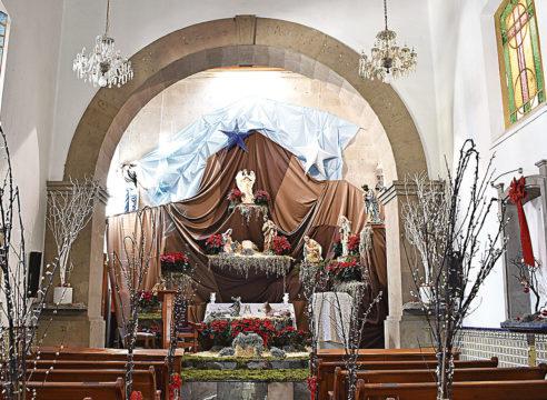 El nacimiento de la Parroquia de Santa María de la Natividad