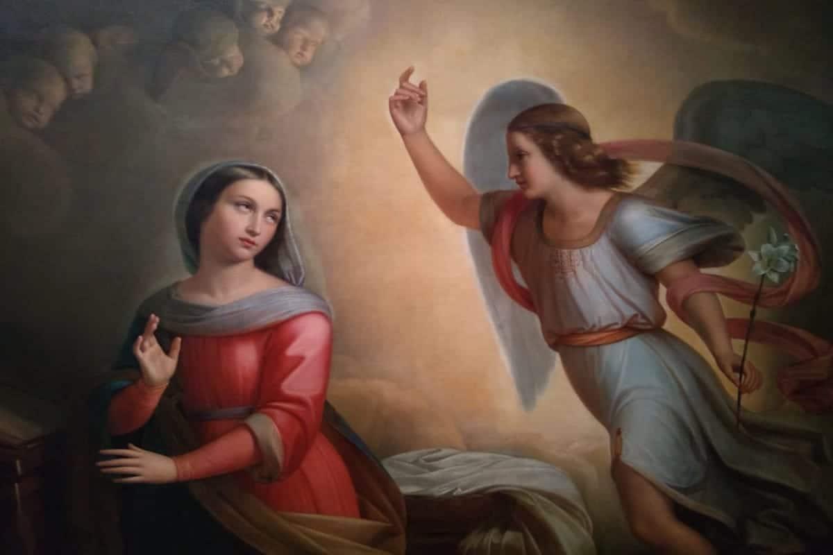 La Anunciación, obra de Don Juan Cordero