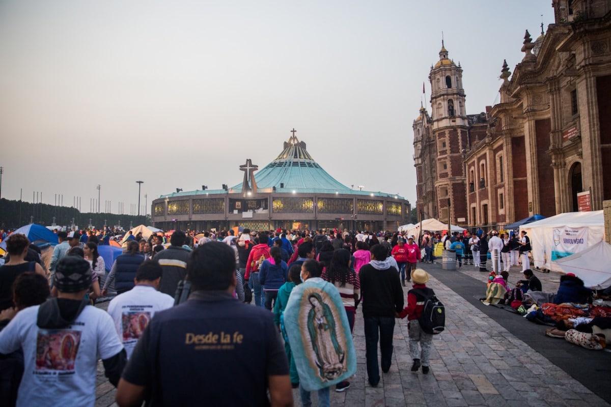 La Basílica de Guadalupe acostumbra recibir a más de 10 millones de peregrinos durante la fiesta del 12 de diciembre. Foto: María Langarica