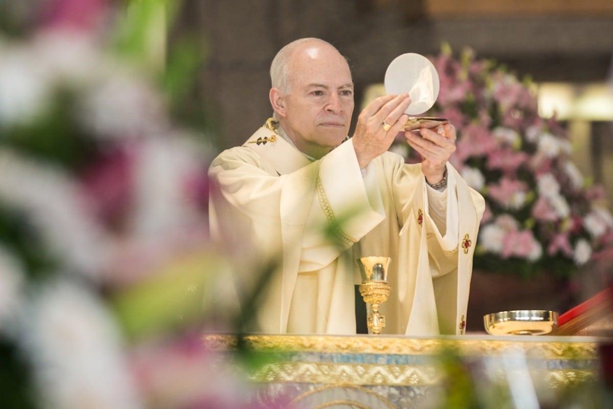 Homilía completa del cardenal Carlos Aguiar Retes en la Festividad de la Natividad del Señor.