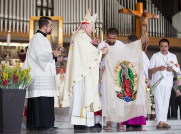 Cardenal Aguiar: la Virgen de Guadalupe nos pide fortalecer las familias