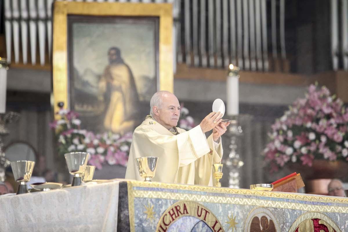 Homilía completa del cardenal Carlos Aguiar Retes durante la Misa de las Rosas