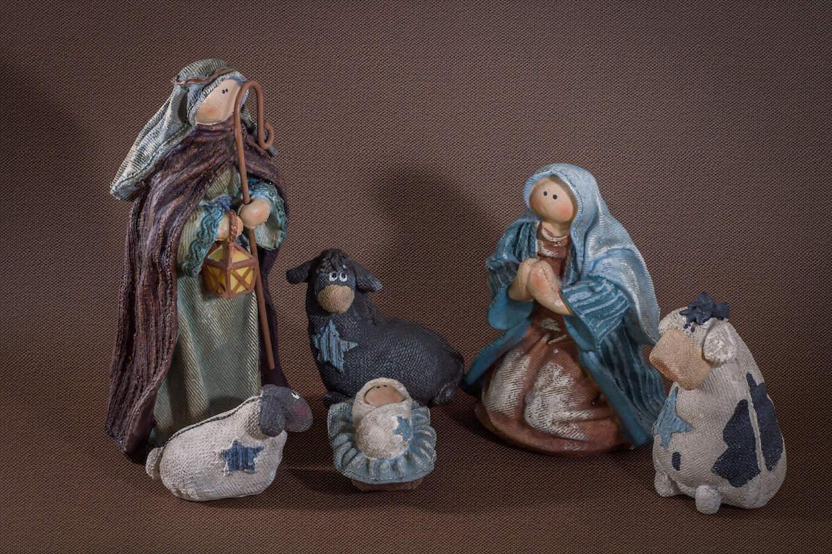Ningún nacimiento estaría completo sin el Niño Jesús a lado de María y José.