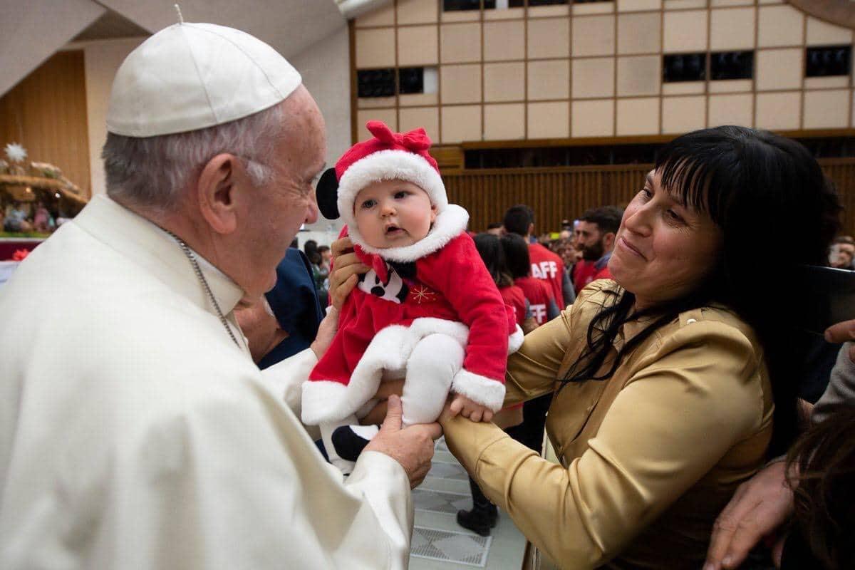 El Papa Francisco ofreció una reflexión sobre el sentido de la Navidad durante la Audiencia General.