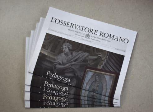 El Papa Francisco agradece al ex Director de L'Osservatore Romano