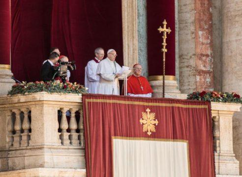 El Papa Francisco llama a la fraternidad entre personas y naciones
