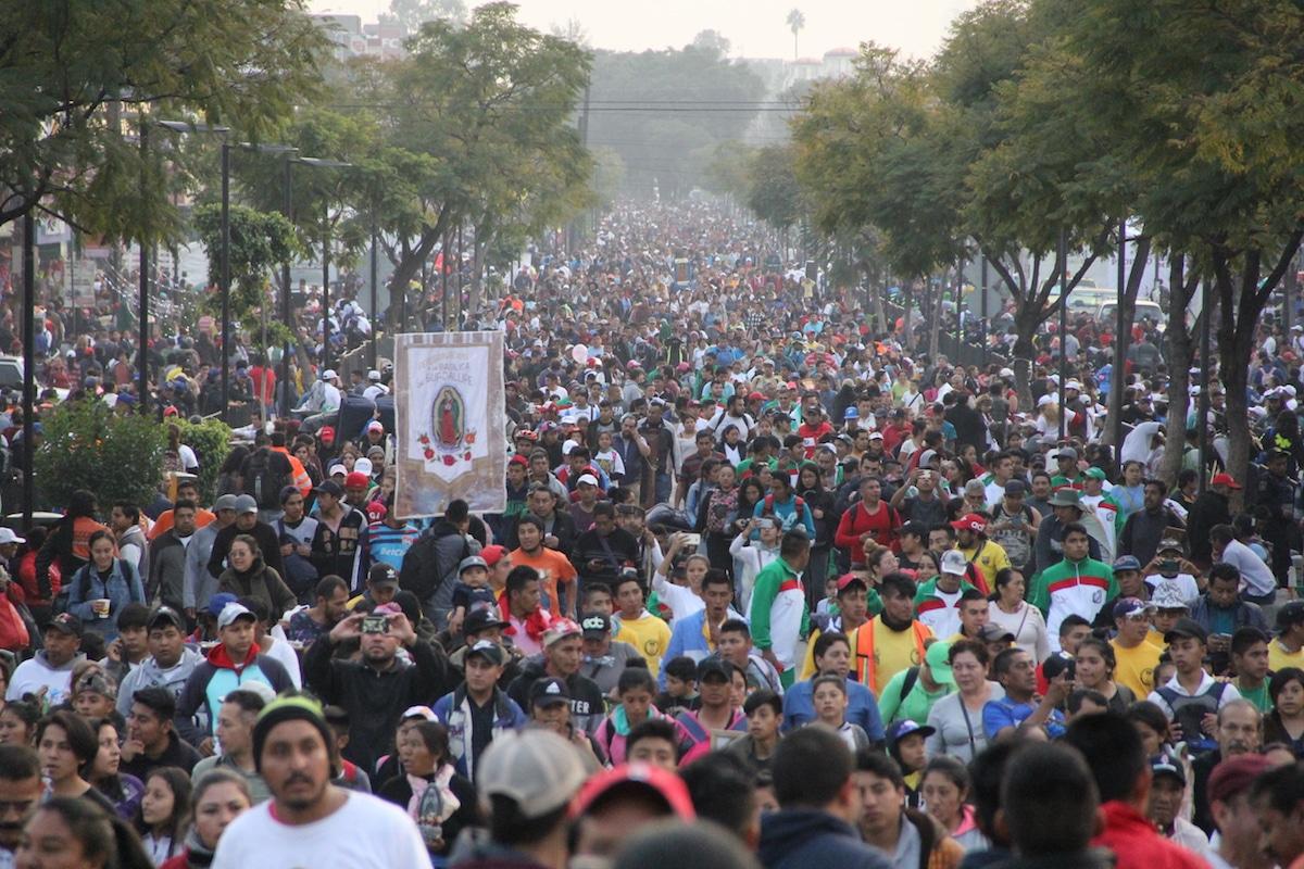 La alcaldía Gustavo A. Madero informó que se registró saldo blanco y una afluencia de 10.6 millones de peregrinos.