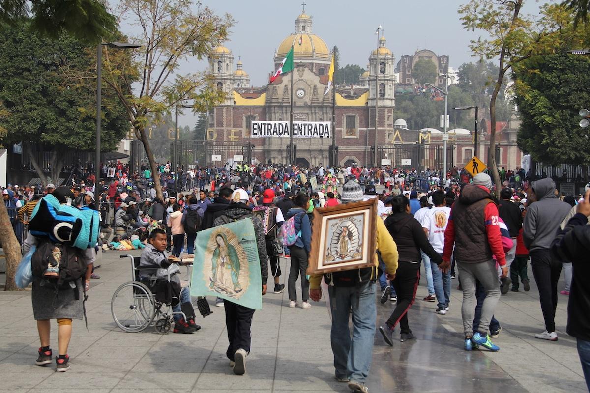De acuerdo con la alcaldía de Gustavo A. Madero, la Basílica de Guadalupe ha recibido 4 millones 600 mil de peregrinos.