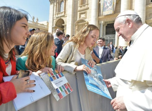 3 prioridades del Papa Francisco para 2019