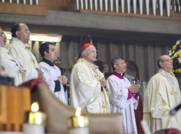 Homilía del Cardenal Aguiar en la fiesta del Bautismo del Señor