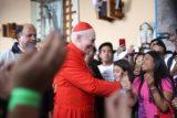 El Cardenal Carlos Aguiar se reúne con jóvenes previo a la JMJ