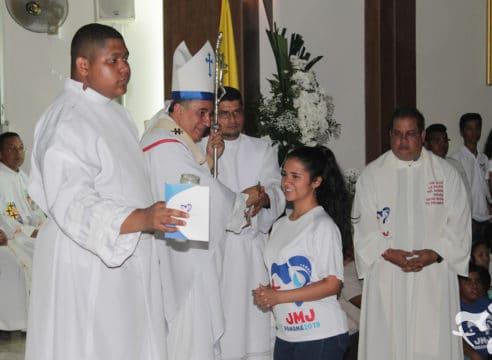 JMJ: Arzobispo de Panamá asegura que no defraudará la confianza del Papa