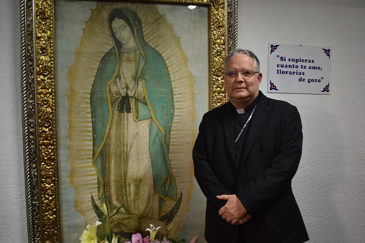 Monseñor Carlos Briseño se desempeñó como auxiliar de la Arquidiócesis de México por 12 años.