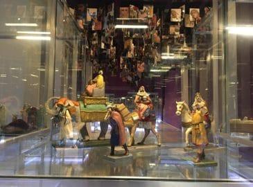 Un Nacimiento de más de 1,000 figuras en San Ildefonso