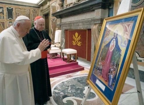 El regalo del Papa que encantó a la Orden del Santo Sepulcro en México