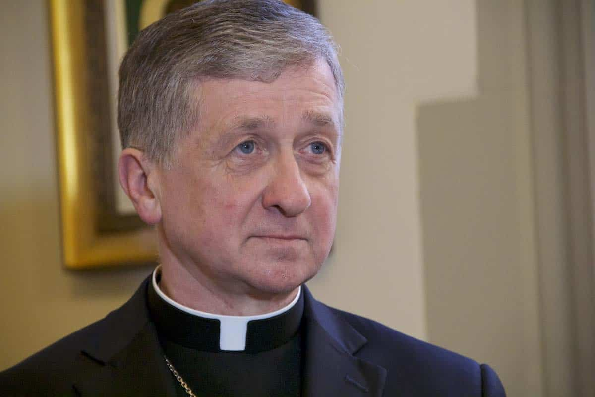 Blase J. Cupich, Arzobispo de Chicago. Foto: Hilda Santiago