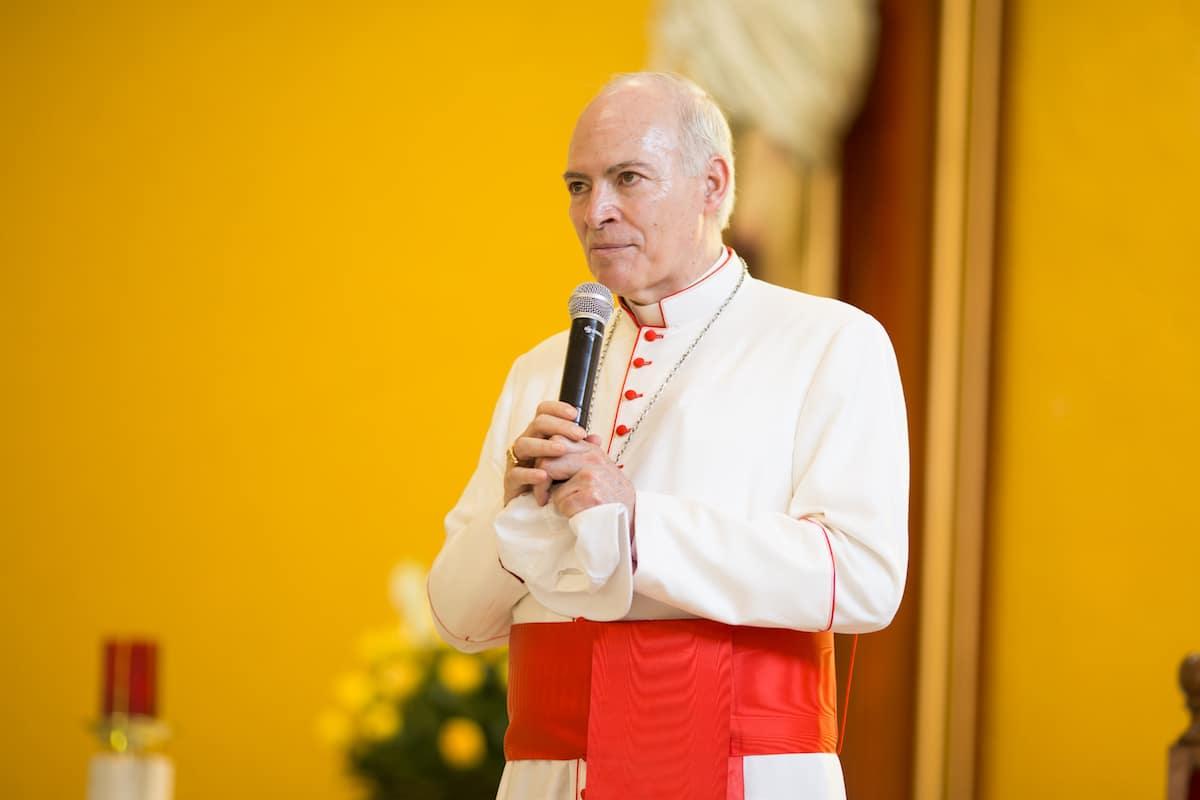 El Cardenal Carlos Aguiar Retes. Foto: María Langarica