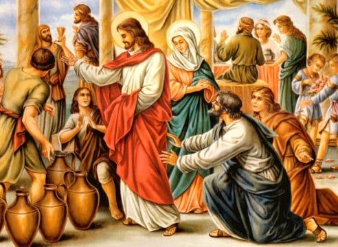 Comentario al Evangelio: las bodas de Caná