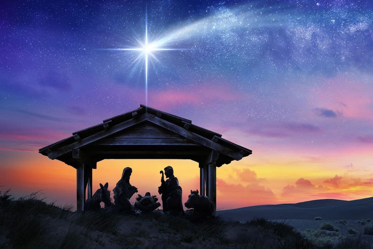 Según la tradición, los Reyes Magos siguieron la Estrella de Belén para llegar al encuentro con Jesús.
