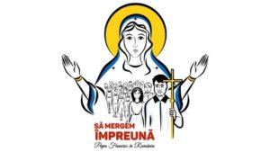 El logo oficial de la visita del Papa a Rumania.