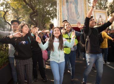 Más de 20,000 personas en la peregrinación de la Arquidiócesis de México