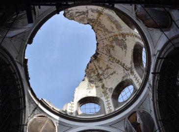 Reinician los trabajos de reconstrucción de Nuestra Señora de los Ángeles