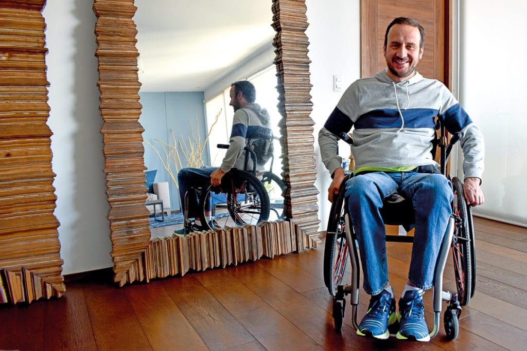 José Villela espera participar en los Juegos Paralímpicos de Tokio 2020.