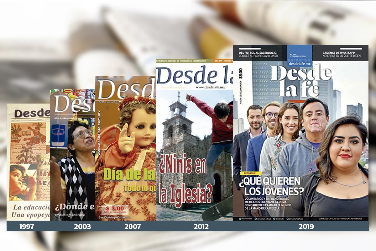 El semanario Desde la fe cumple 22 años.