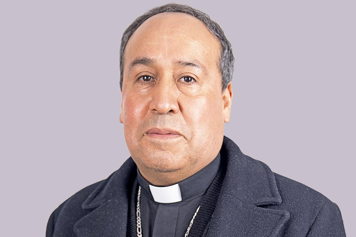 Monseñor Adolfo Miguel Castaño Fonseca, Obispo de Azcapotzalco. Foto: María Langarica