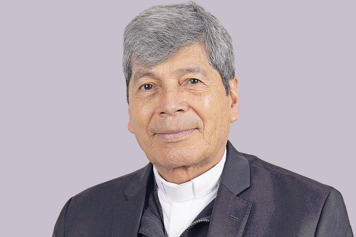 """Monseñor Andrés Vargas Peña es Obispo Auxiliar de la VIII Zona Pastoral """"San Juan Bautista"""". Foto: María Langarica"""