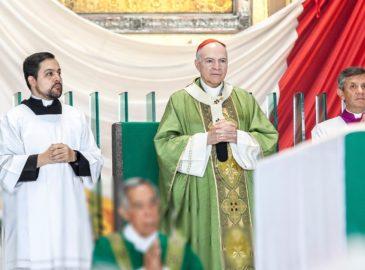 Homilía del Cardenal Carlos Aguiar durante el IV domingo ordinario
