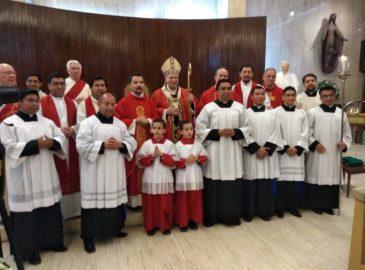 Con una Misa celebró el Cardenal Aguiar su primer año en la Arquidiócesis