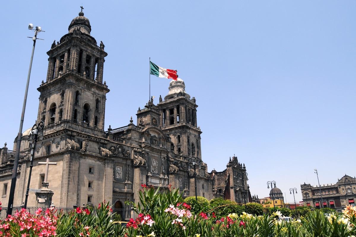 La Catedral de México. Foto: Archivo