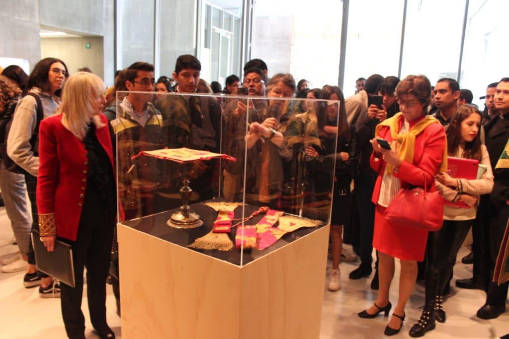Inauguración de la exposición en la Universidad de Monterrey.