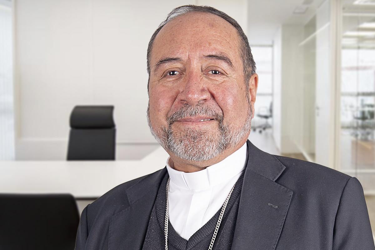 """Monseñor Florencio Armando Colín Cruz es Obispo Auxiliar de la I Zona Pastoral """"Santa María de Guadalupe"""". Foto: María Langarica"""