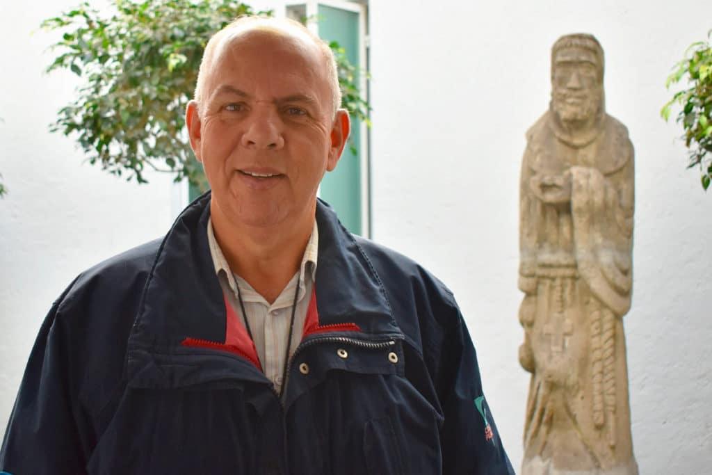 Antonio Tavares dirige la Comunidad de Jesús Menino. Foto: Ricardo Sánchez