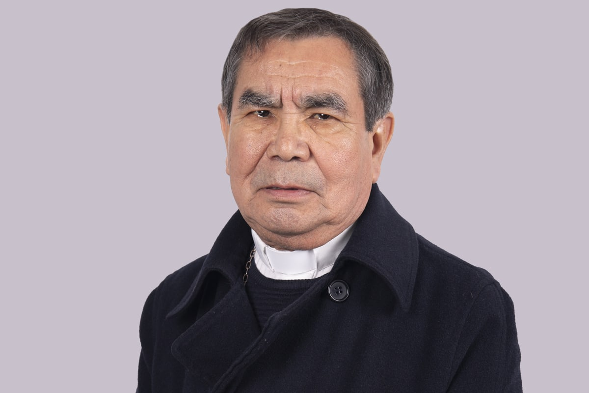 "Monseñor Jesús Antonio Lerma es Obispo Auxiliar de la VII Zona Pastoral ""San Pablo Apóstol"". Foto: María Langarica"