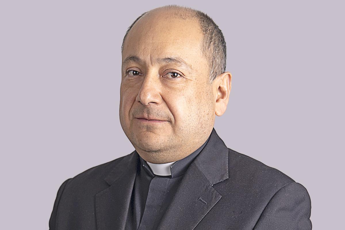 """El padre José Antonio Carballo García es vicario episcopal de la VI Zona Pastoral """"San José"""". Foto: María Langarica"""