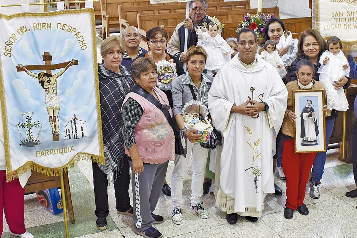 La Parroquia de la Purificación de Nuestra Señora de la Candelaria, en Mixcoac.