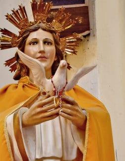 Parroquia de Jesús María: La devoción al Señor del Amor