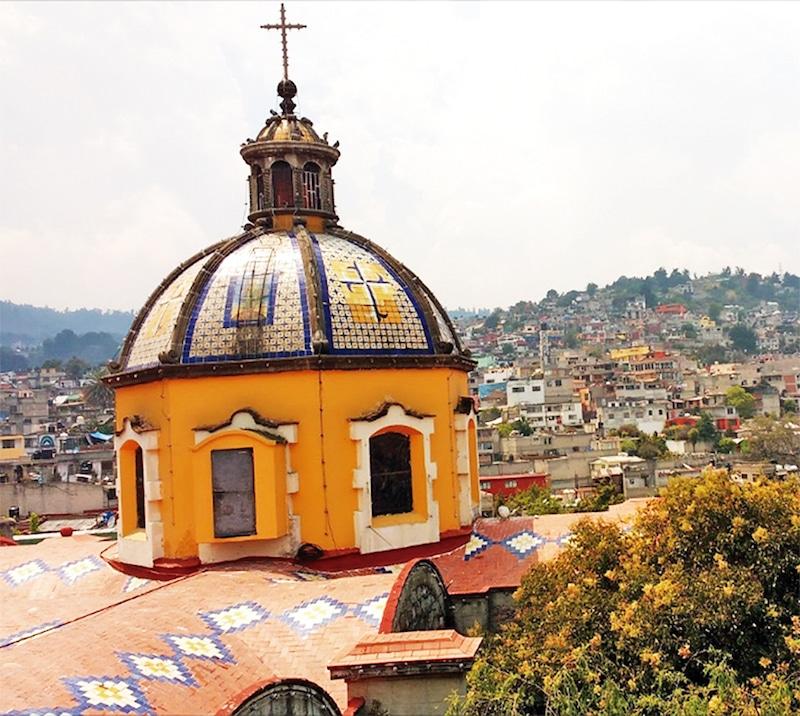 La Parroquia de Santa Rosa de Lima.